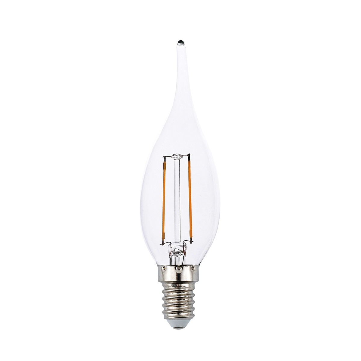 Bec LED decorativ FLAME FILAMENT E14 LED 2W 2700K 17419 Faro Barcelona