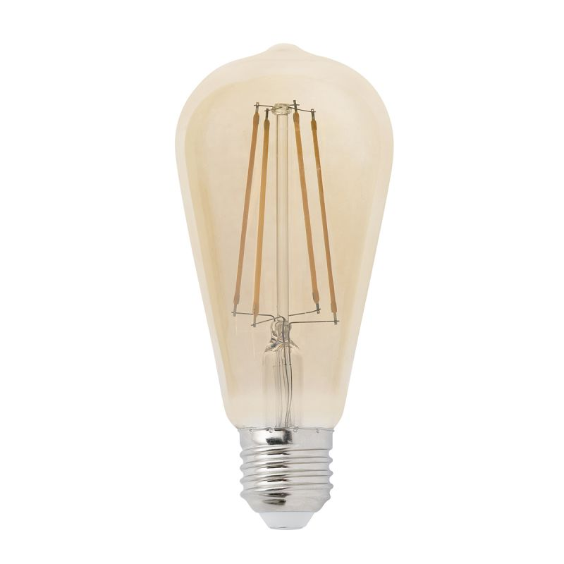 Bec LED E27 DECORATIV FILAMENT AMBER 4W 2200K 17428 Faro Barcelona