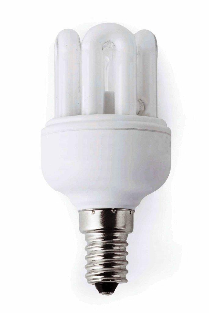 Bec mini energy saving 6U T2 E14 15W 2700K warm light 16294 Faro Barcelona